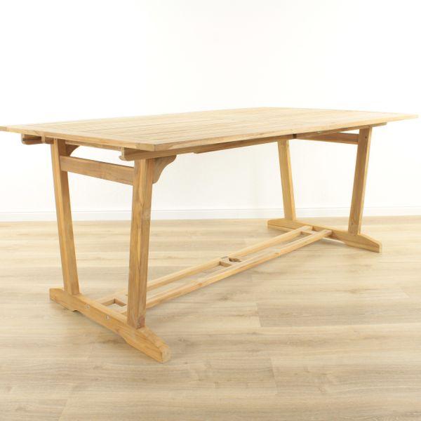 Gartentisch ausziehbar 170 - 230 x 100 Teak – Bild 2