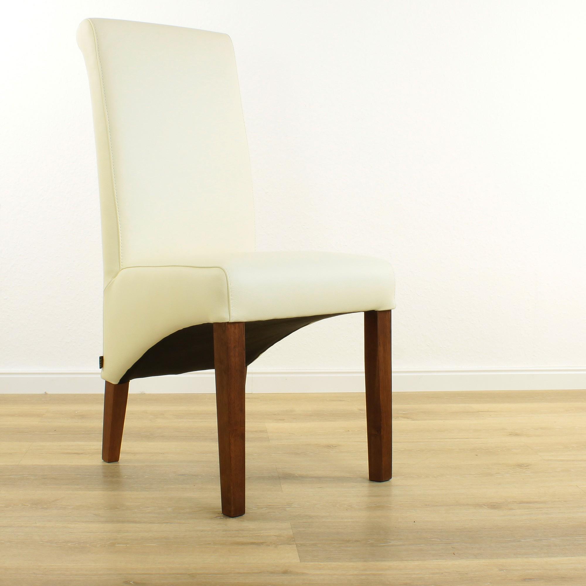 NussbaumLederstühle Six® Weiß Markenmöbel Creme Kaufen Esszimmer Stühle Bei Felice Lederstuhl BWroeEdxQC