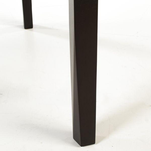 Lederstuhl Armlehnstuhl Galdo Dark Braun Wenge – Bild 8