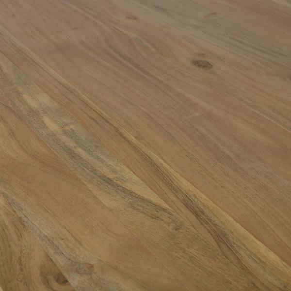 Esstisch Massivholz Akazie natur 160x90 – Bild 3