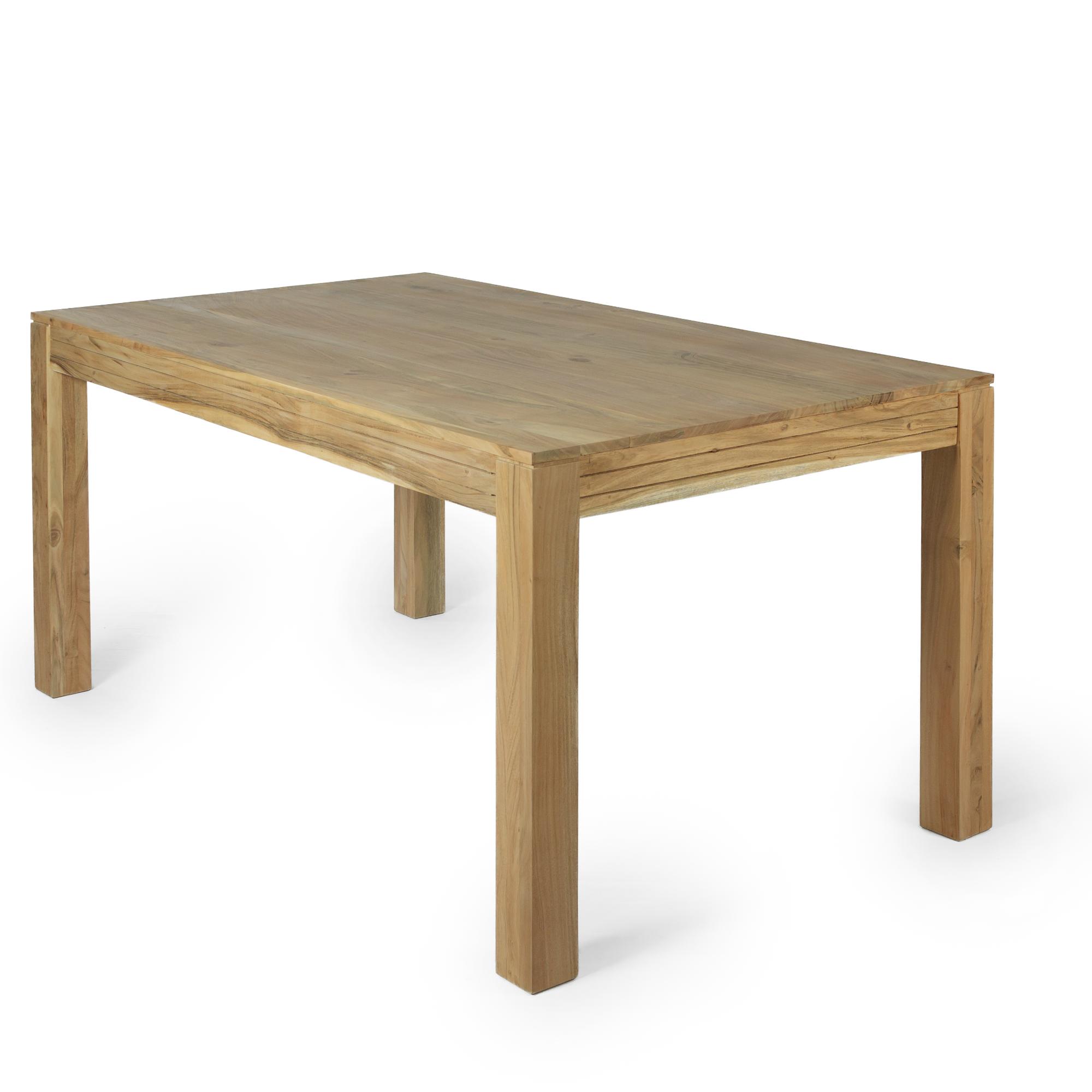 akazie tisch. Black Bedroom Furniture Sets. Home Design Ideas
