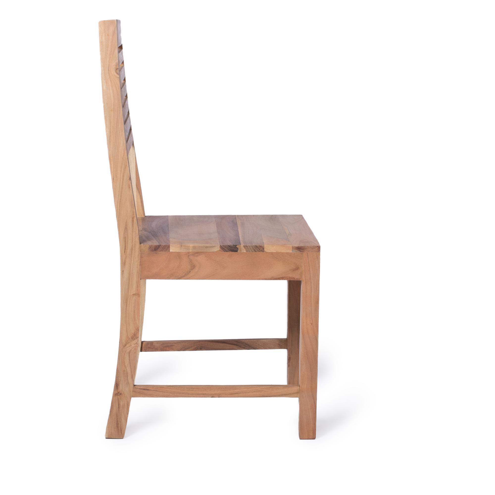 esszimmer stuhl massivholz akazie natur. Black Bedroom Furniture Sets. Home Design Ideas