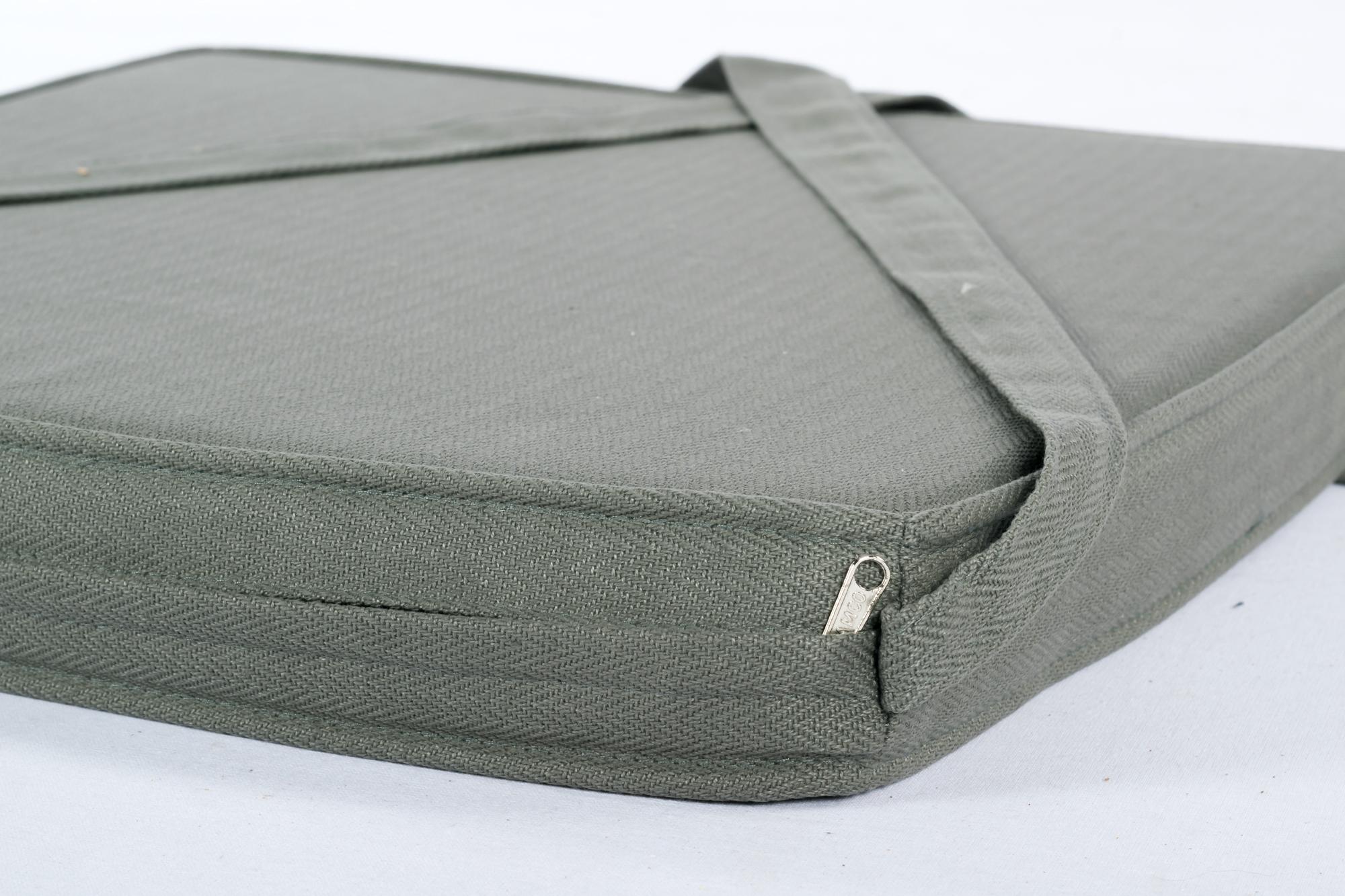 Sitzkissen Für Stuhl sitzkissen stuhlkissen larissa grau