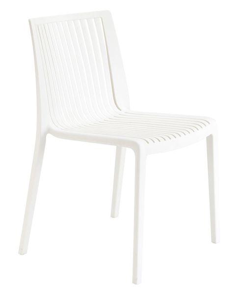 Gartenstuhl Cool Weiß