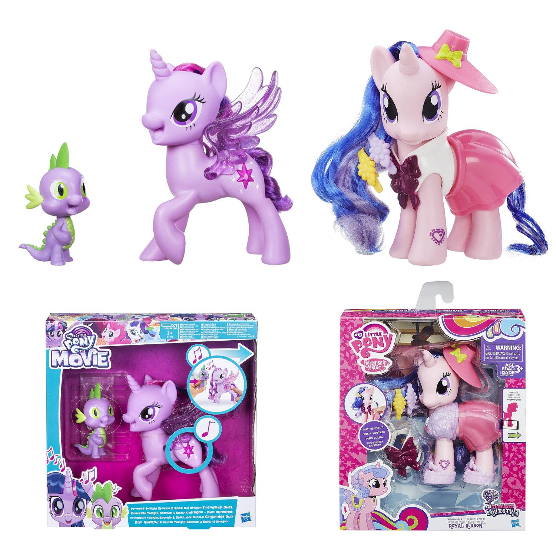 My Little Pony Bundle Royal Ribbon singendes Duo Twilight Sparkle Drache Spike