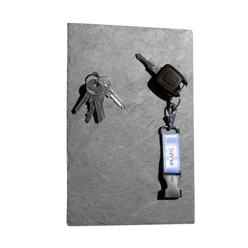 Magnetic key panel slate 30 cm x 20 cm
