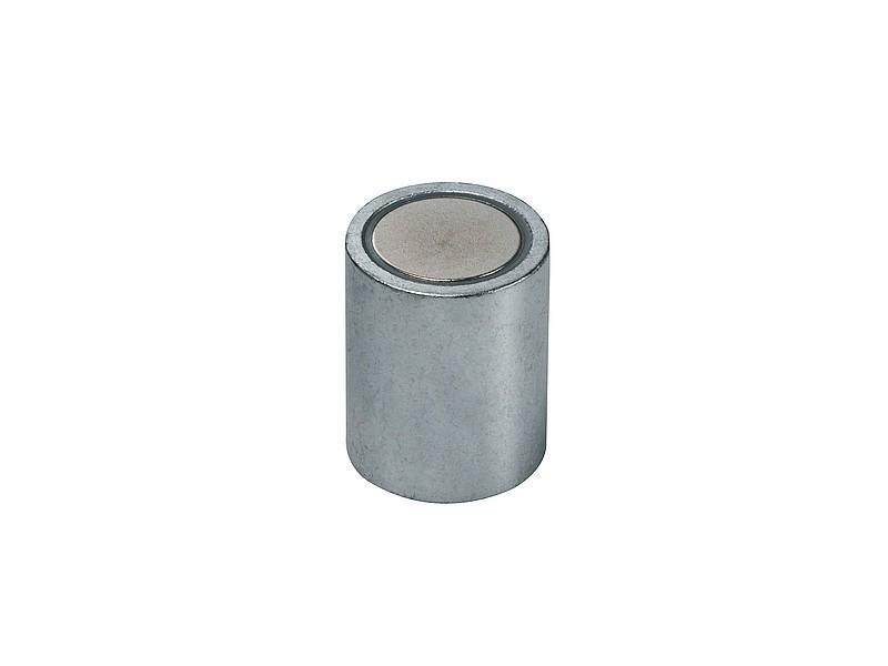 Grandezzas:/Ø 63 M12x14 - Forza di attrazione fino a 170 kg /Ø6-63mm Terre Rare Neodimio - Calamite potenti 170kg forza Magnete di fermo cilindrico con foro filettato NdFeB Magneti permanenti cilindrici al Neodimio