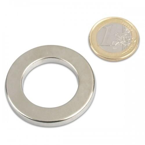 NdFeB Neodym N50 Nickel – hält 3,2kg 10 x Ringmagnet Magnetring Ø 12//4 x 6 mm