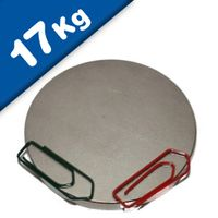 Round Disc Magnet Ø  45 x  5mm Neodymium N50 (Rare Earth), Nickel - pull 17 kg