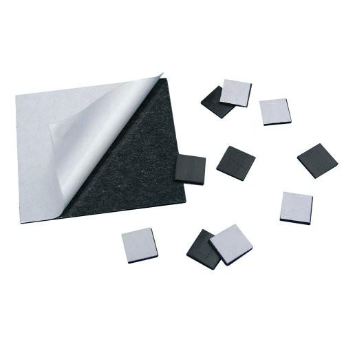 250 x Self Adhesive Magnetic Dots 1,5mm x 11mm x 25mm - 250 pcs - pull 105 g/cm²