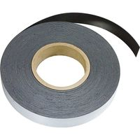 Plain ferrous strip with self adhesive 0,6mm x 25mm x 15m