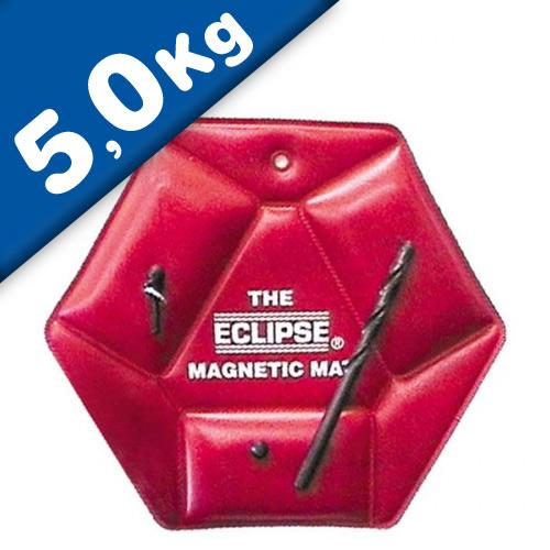 Magnetic tool mat, plastic nonslip, width: 210mm, force 5 kg