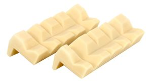 Plastic Magnetic Soft Jaws, Soft Jaw vice Inserts, 103 mm long, 1 Pair