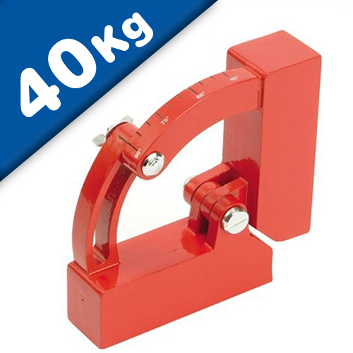 Weld Clamp Magnets - Variable Magnetic Welding Clamp, Heavy Duty, pull 88 lb