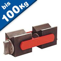 """Posizionatore Magnetico fissa due blocchi """"On - Off"""", forza 80 kg - 100 kg"""