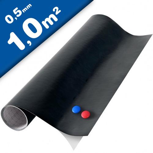 Magnettafel Kreidetafel - Tafelfolie magnetisch selbstklebend 1x1m + 2 Kreide