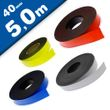 Coloured Magnetic Tape/Strip, Marking Tape, Label Magnets 0,85 mm x  40 mm x 5 m 001
