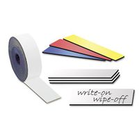 Magnetic tape Marking tape Label Magnets dry-Wipe 0,85 mm x  50 mm x 5 m