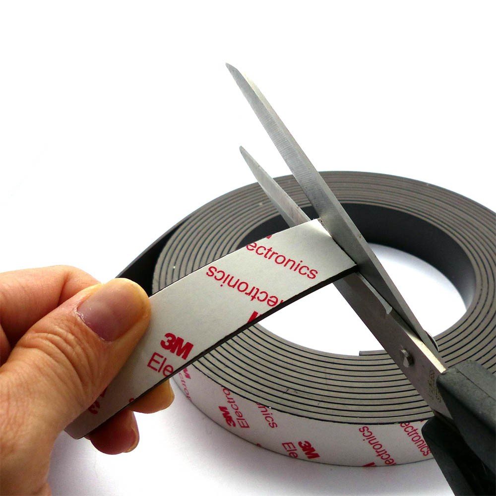 Flexible Strip Magnets High Energy, 3m self-adhesive magnetic tape strip, 3M Self Adhesive Magnetic Tape Magnet Strip 12mm, 3M Flexible Magnet Tape, Self-Adhesive Magnets, Magnetic Tape with Premium Self Adhesive, High Energy Flexible Rubber Magnetic Strip/Tape with 3M Self Adhesive