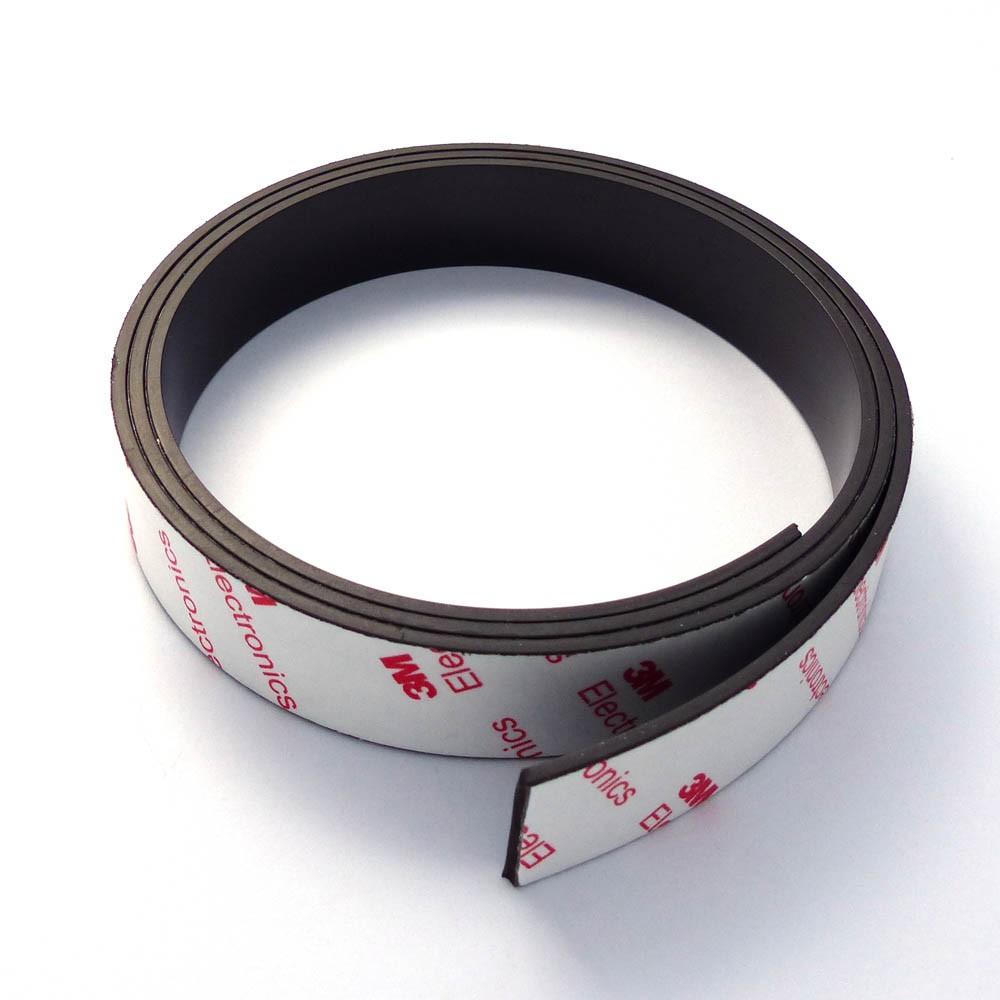 bande magn tique autocollante ruban aimant adh sif 3m 1 6mm x 25mm x 100cm bande magn tiques. Black Bedroom Furniture Sets. Home Design Ideas