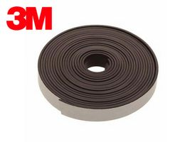 Flexible Magnetic Tape Strip with 3M adhesive 1,6mm x 25mm x 20m, very strong
