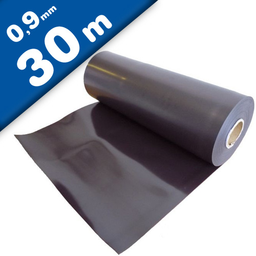 Foglio magnetico naturale 0,9mm x 0,62m x 30m - Magnete flessibile in rotolo