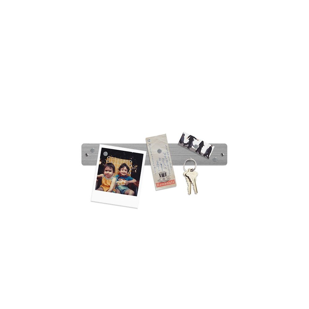 Magnetleiste MINI 350 x 50mm, verschieden Farben, inkl. 6 Magneten