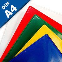 Porte-documents magnétiques A4 couleurs assorties -  210 mm x 297 mm | 1 pièce