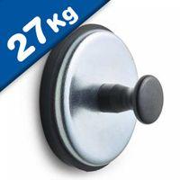 Magnete rivestito di gomma Ferrit Ø 57mm - forza 27 kg