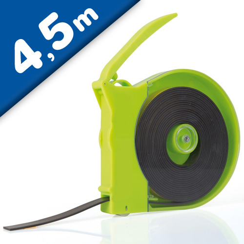Magnet Tape Dispenser | 1/2 x 15' Black Tape / Green Dispenser