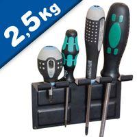 Magnetischer Werkzeughalter aus Stahlblech Länge 145 mm – hält 2,5 kg