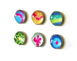 Magnets Argus | Retro Fantasy magnets, 6 pack