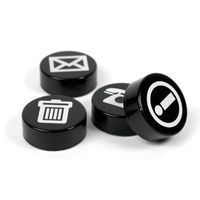 Magnets BIZ | Symbol magnets, Set of 4, Ø 23mm