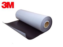 Flexible Magnetic Sheet NEODYMIUM with 3M Self Adhesive 0,5mm x  30cm x 100cm