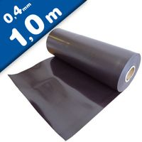 Plain magnetic sheet brown 0,4mm x 0,62m x 1m