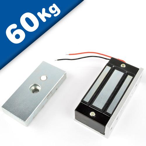 Electromagnetic Door Lock, 80mm x 41mm x 24mm - pull 60 kg