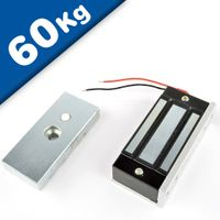 Electromagnetic Door Lock, 80mm x 41mm x 24mm - pull 60 kg