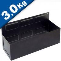 Support magnétique Boîte de rangement - 210 x 110 x 85 mm - NOIR - Force 3 kg