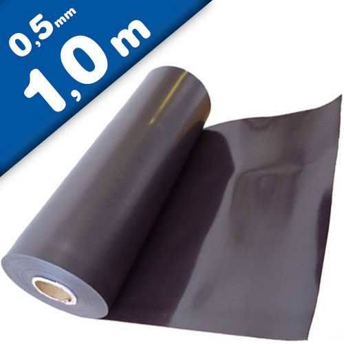 Plain magnetic sheet brown 0,5mm x 0,62m x 1m