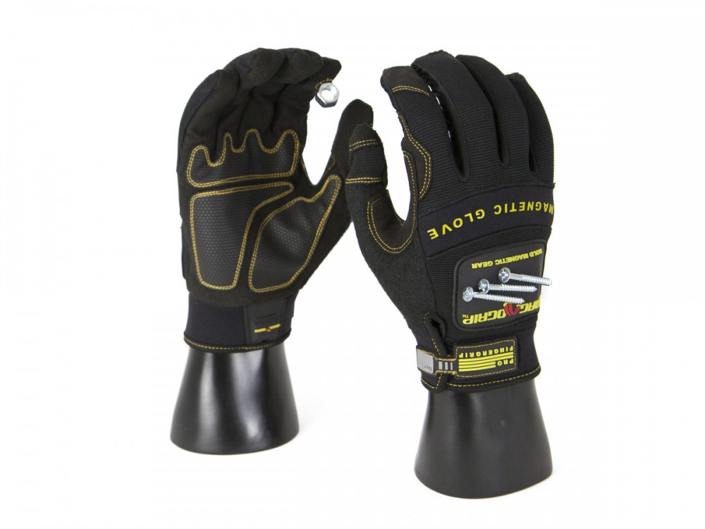 Magnetic Gloves - Work Gloves - available in medium, large and extra large