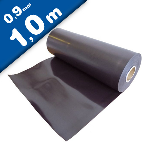 Plain magnetic sheet brown 0,9mm x 0,62m x 1m