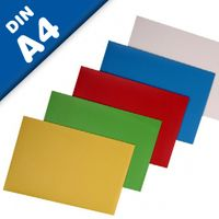 A4 Magnetic sheet, various colors - 297mm x 210mm x 0,8mm