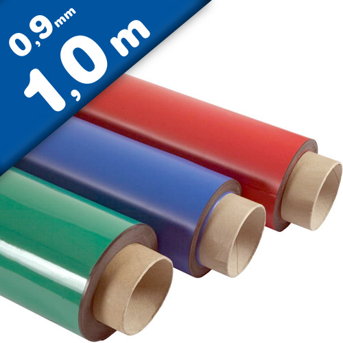 Coloured Magnetic Sheets 0,9mm x 60cm x  1m - Coloured Flexible Magnet