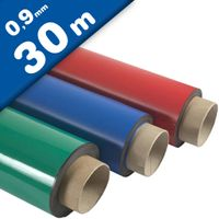 Coloured Magnetic Sheets 0,9mm x 60cm x 30m - Coloured Flexible Magnet