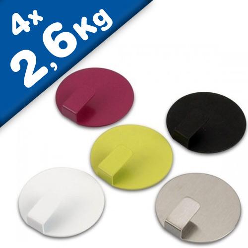 Gancho magnético Solid, 4 uds. - Anti - Slip