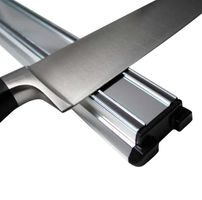 Barra/Soporte Magnético classic de 30 cm o 45 cm de aluminio plata mate