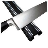 Coltello magnetico Rack classic in plastica nera di 35 cm o 50 cm