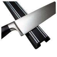 Barra/Soporte Magnético classic de 35 cm o 50 cm de plástico negro w/Acero
