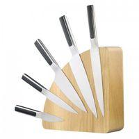 """Magnet Messerblock Holz, """"Original"""" Eiche, Platz für 10 Messer"""