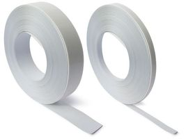 White steel tape with premium self adhesive 35mm wide x 1.5mm thick x metre